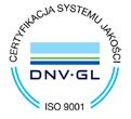 Znak certyfikacja systemu jakości BIBUS MENOS