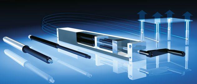 Easymotion - liniowe systemy hydrauliczne Bansbach