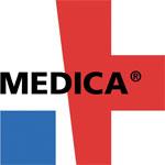 Logotyp targów Medica