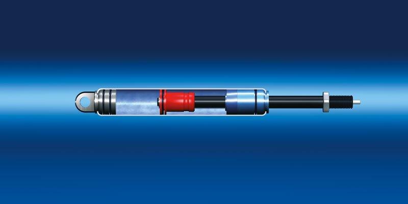 Sprężyny gazowe blokowane Bansbach model B